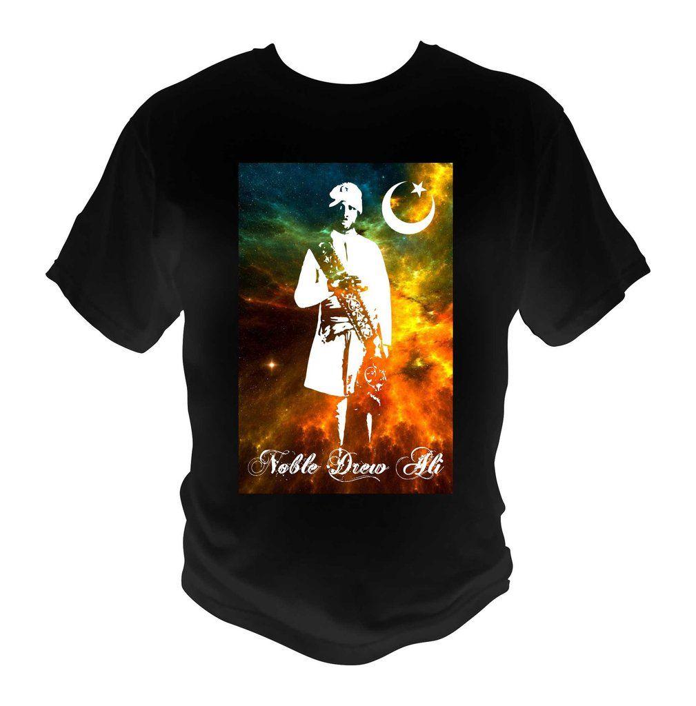 1cd4a7324 Prophet Noble Drew Ali black T-Shirt Moorish Graphic Tee Cosmos Theme1 –  MoBetterTees