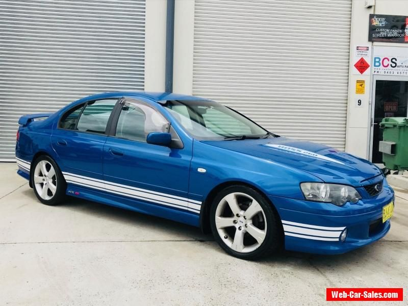 Ba Xr8 Ford Falcon Mk2 Boss 260 Auto Leather Premium Sound