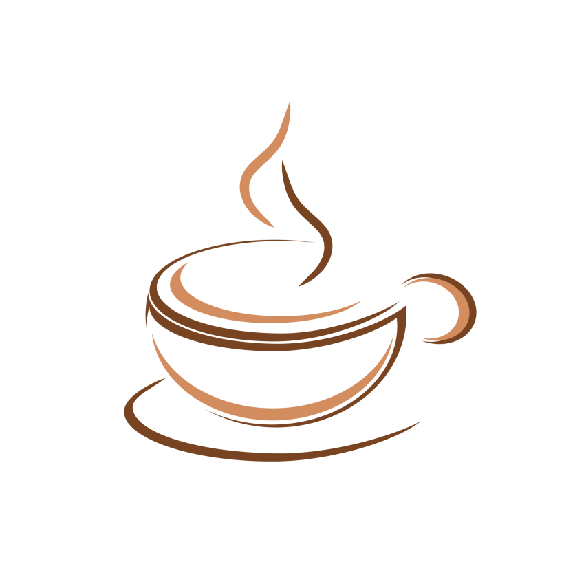 Coffee Logo Design Creative Idea Desain Aksesoris Desain Logo