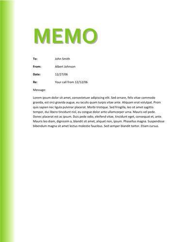 Free Memo Templates Download Fully Editable Creative Documents Memo Template Memo Format Memo Examples