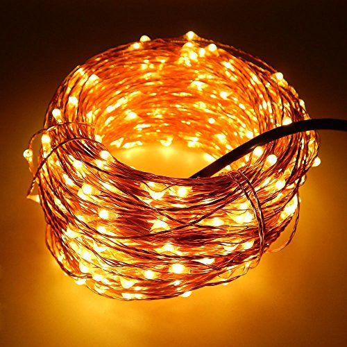 Cheap String Lights Brilliant Er Chen 50M 500Led Warm White Copper Wire String Fairy Light Lamp Design Decoration