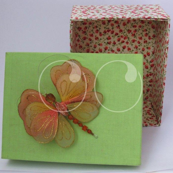 Cajas en tela decorada, especiales para decoraciones, organizadoras y más.!!