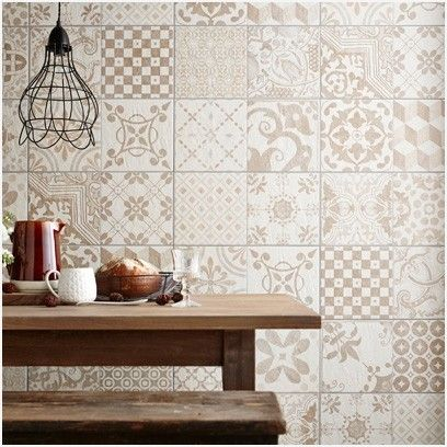 Patterned Kitchen Wall Tiles » Comfy How to Revamp Your ...