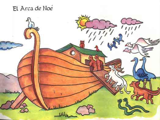 Reflexion Sobre El Arca De Noe Para Ninos Buscar Con Google Animals Painting Bowser