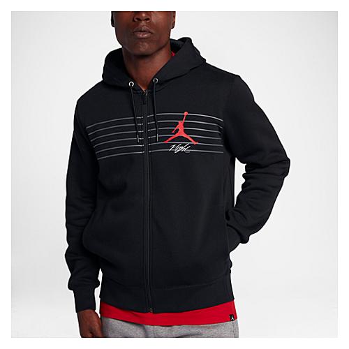 1e020c71a0c9e4 Jordan Flight Graphic Fleece Full Zip Hoodie - Men s