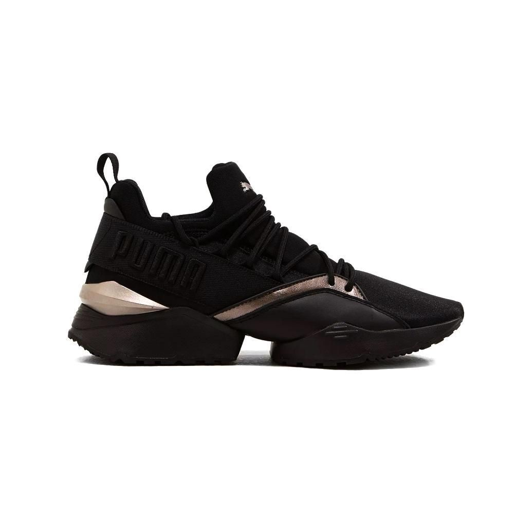 4dc89238fe4e Shop Puma Muse Maia Luxe Womens Black online – West Brothers