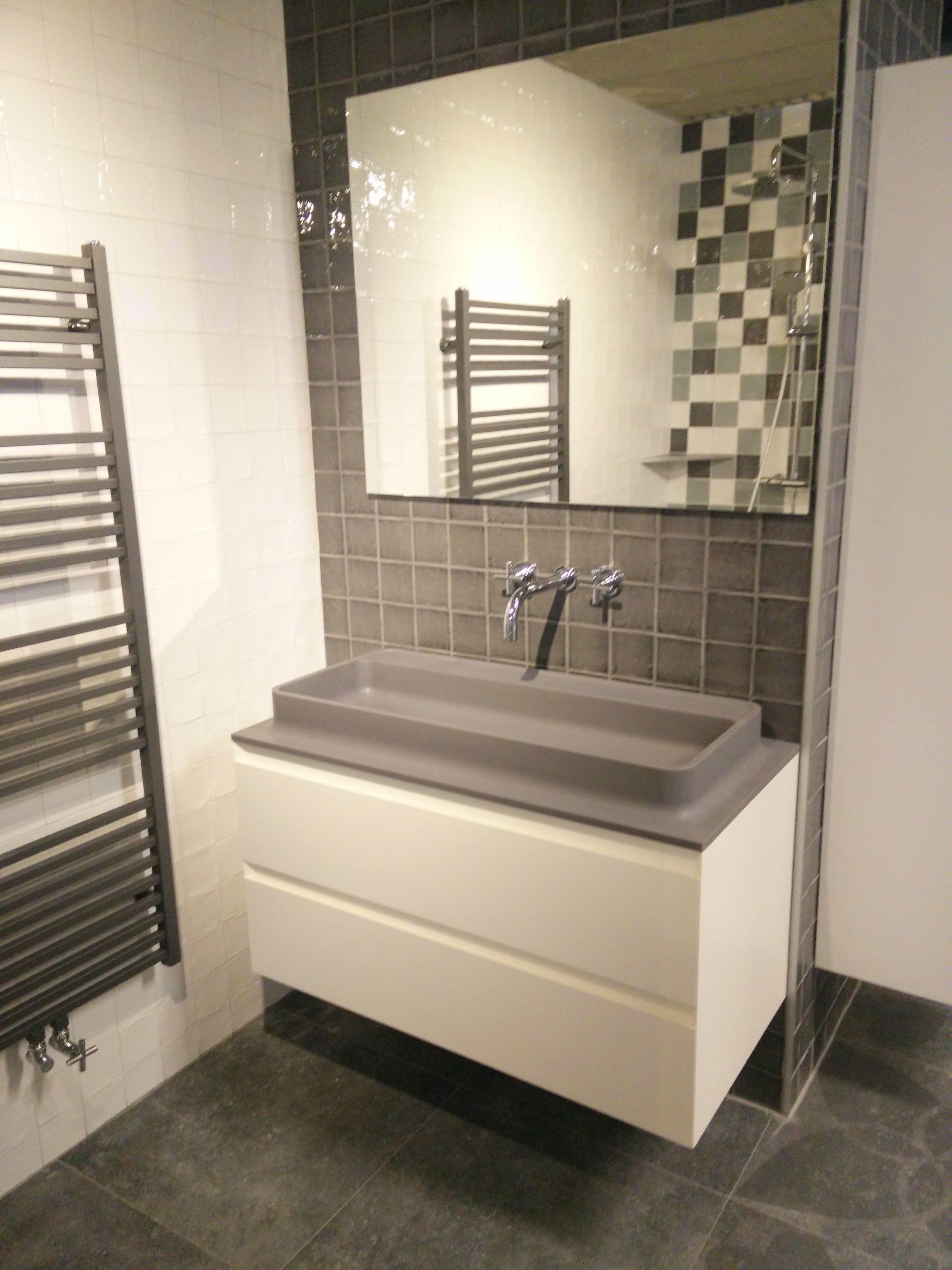 vtwonen badkamer meubel shell de opvallende shell wastafel