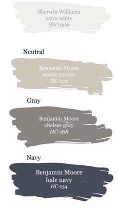 Image result for navy siding gray trim and cedar