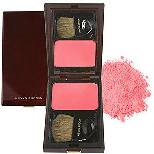 I haven't fallen this hard for a blush in ages but Kevyn Aucoin ...
