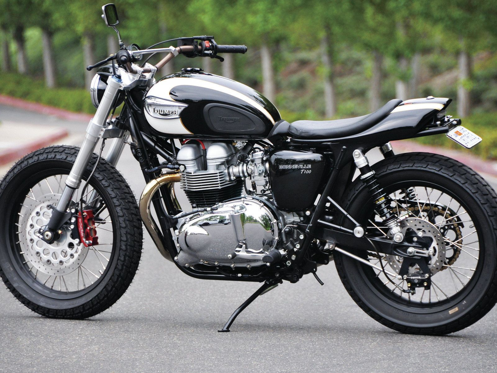 custom : amazing triumph bonneville motorcycle custom and