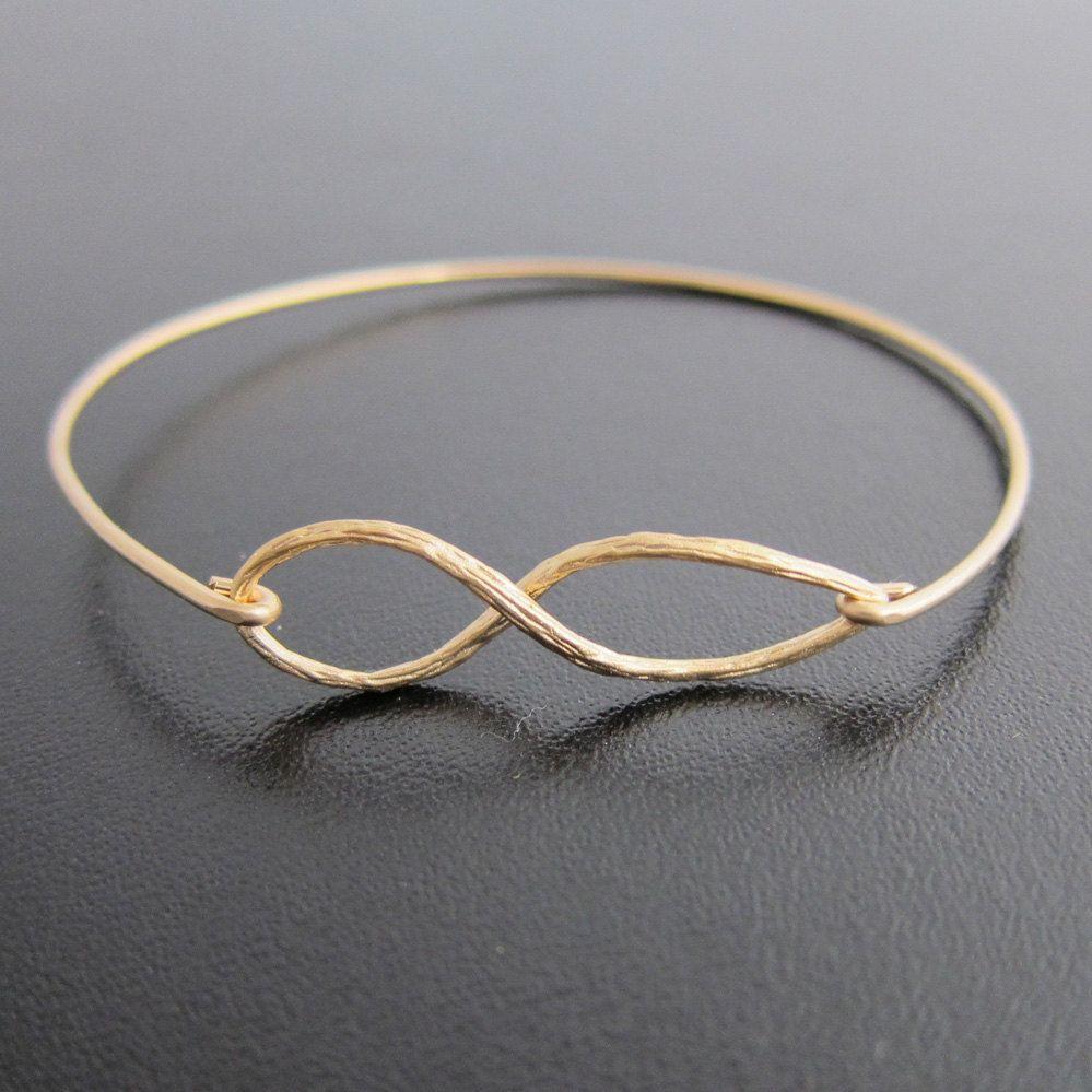 Infinity Bracelet Gold Plated Infinity Bangle Bracelet for Women for ... bb493009a