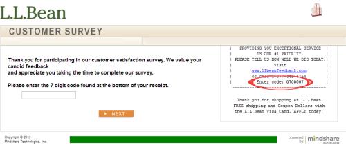 L L Bean Customer Satisfaction Survey Customer Survey Surveys Customer Satisfaction