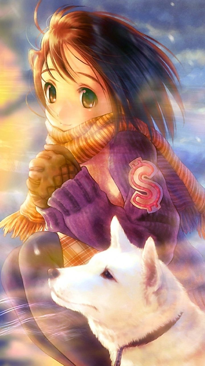 Wolf Princess. Tap to see more anime iPhone HD wallpapers