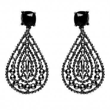 KINTARO FACET DROP EAR - Drop - Earrings - Jewellery - Mimco