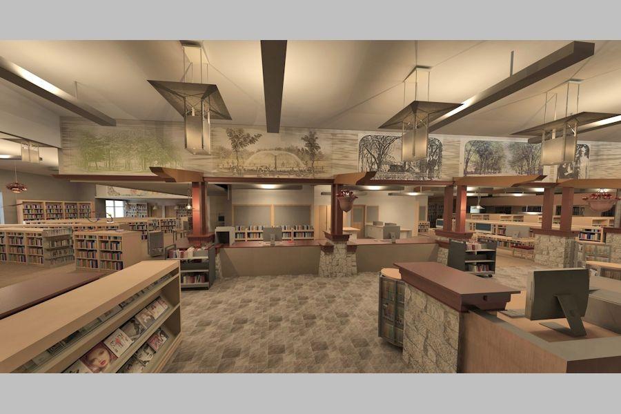 Prairie Du Chien Memorial Library Cameron Aslaksen Architects Llc