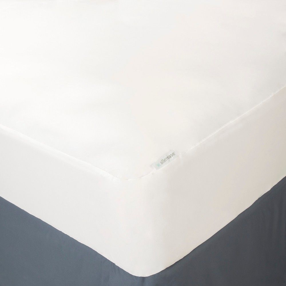 Allerease Waterproof Mattress Protector White Twin Variation Parent Waterproof Mattress Cover Mattress Protector Waterproof Mattress