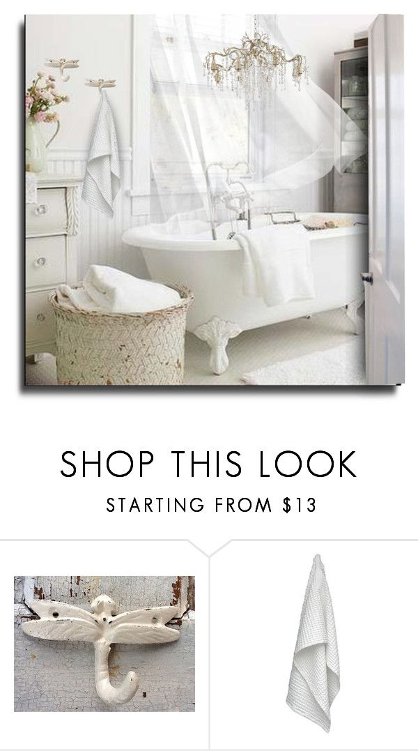 Shabby Chic Bath By Erina I Liked On Polyvore Featuring