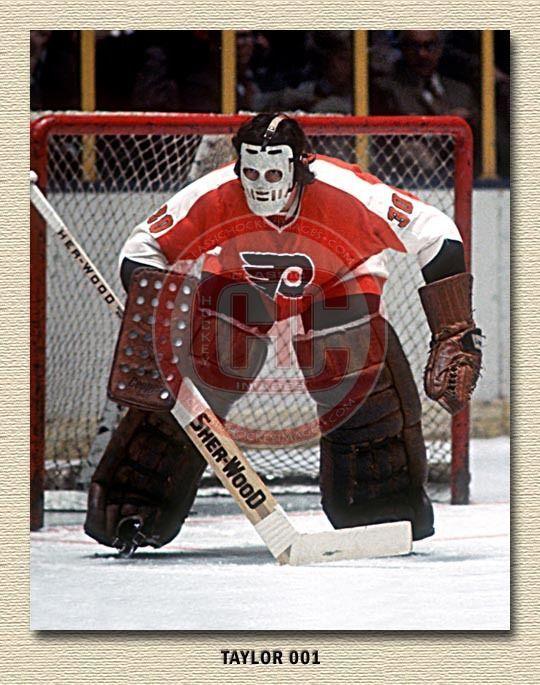 Bobby Taylor Vintage Goalie Flyers Flyers Flyers Hockey Hockey