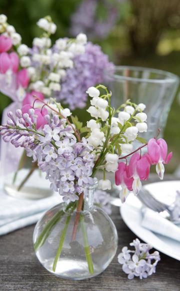 deko ideen mit maigl ckchen bouquet of flowers maigl ckchen sch ne blumen deko ideen. Black Bedroom Furniture Sets. Home Design Ideas