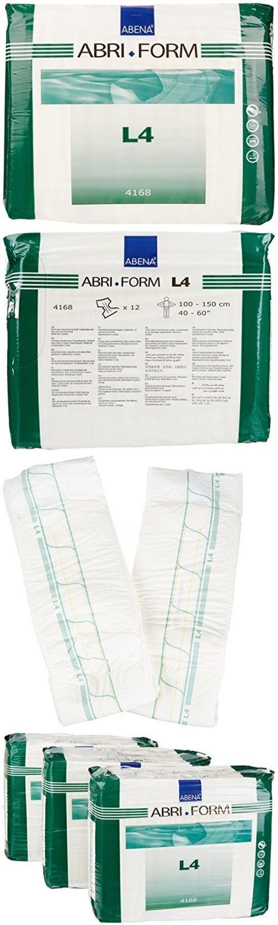 Abena Abri Form Comfort Briefs Large L4 36 Count 3 Packs Of 14
