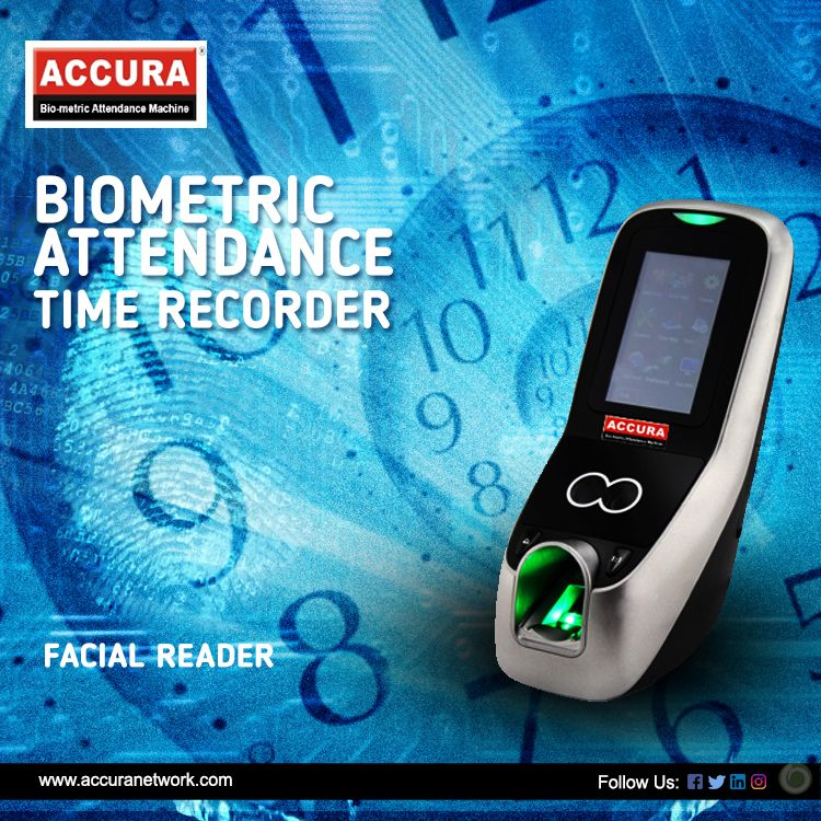 Biometric Attendance Time Recorder with Facial Reader
