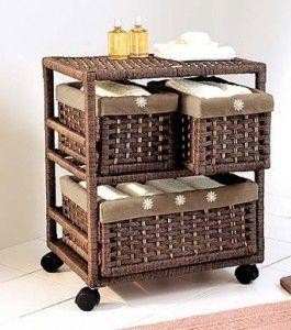 Idea Para Tu Bano Univesaldeco Muebles De Cana Canastos Para Banos Muebles De Mimbre