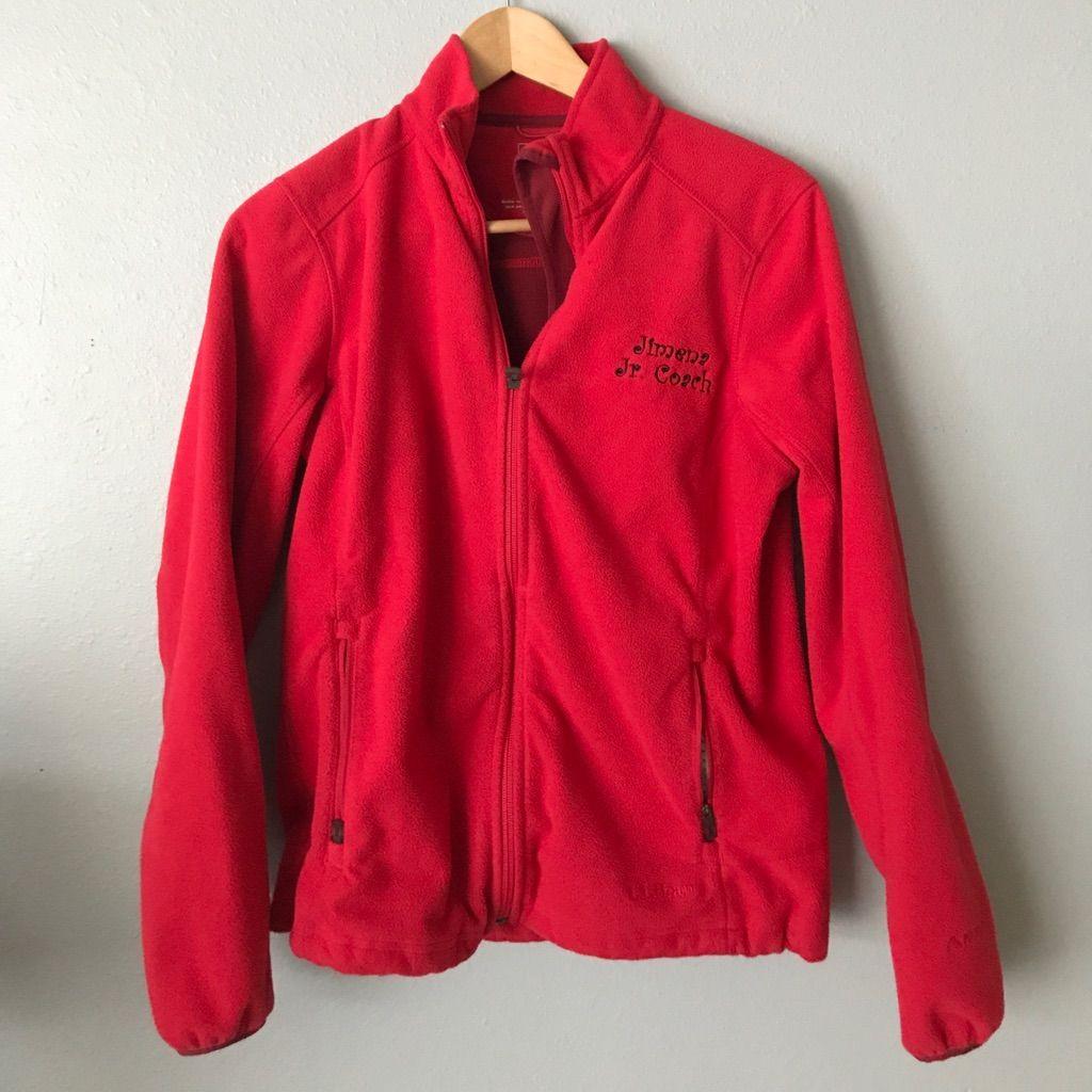 Llbean Zip Up Jacket