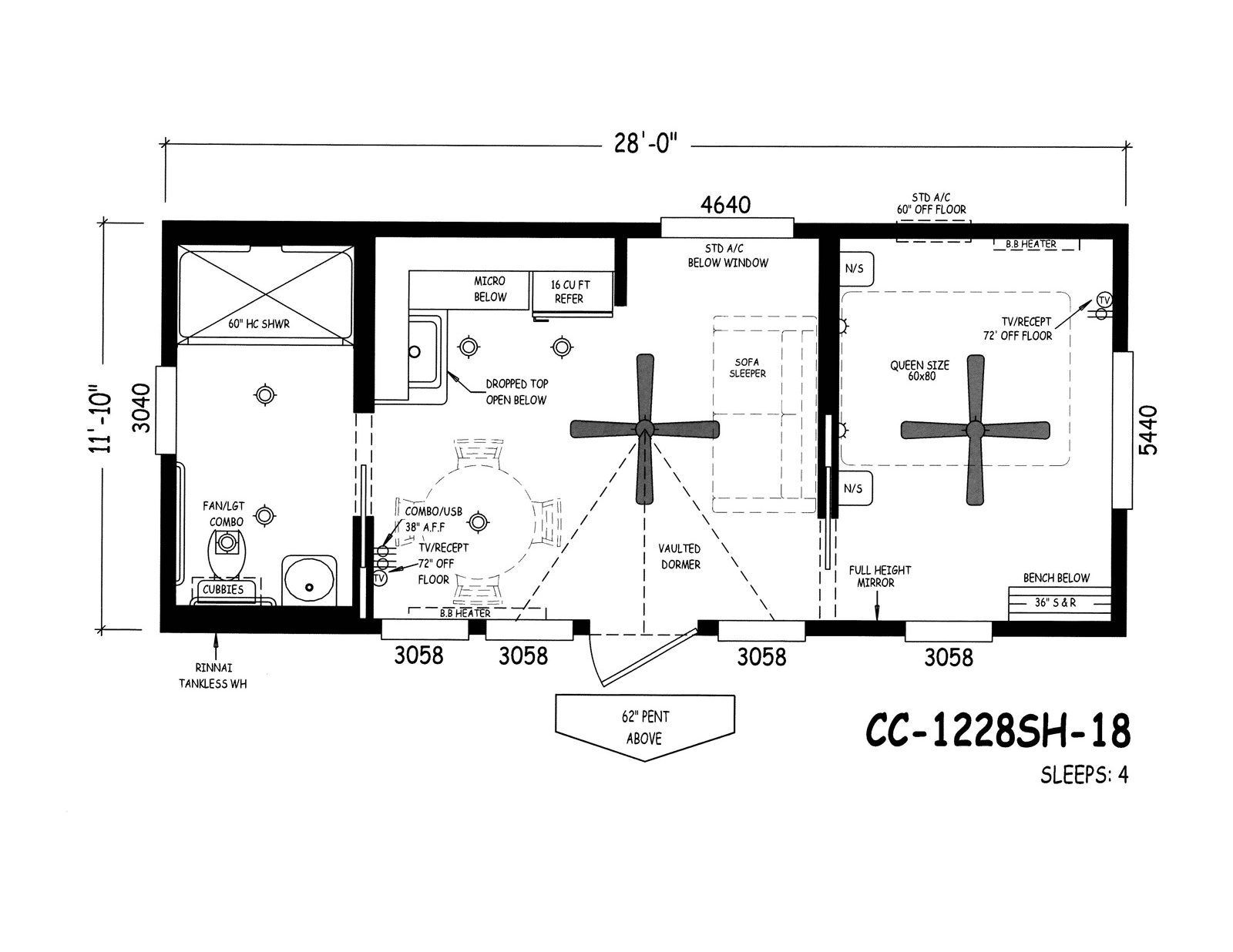 Handicap accessible park models places to visit for Accessible house plans small