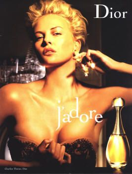 J'Adore by Christian Dior with Charlize Theron (2006