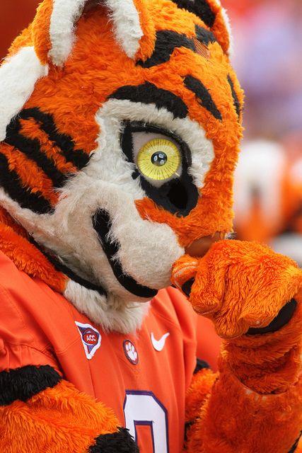 Ncaa Football Auburn At Clemson Clemson Tiger Paw Clemson
