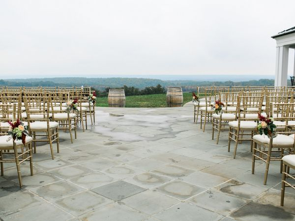 Superior Trump Winery Wedding On The Terrace Overlooking Charlottesville Albemarle  County At Trump Grand Hall.