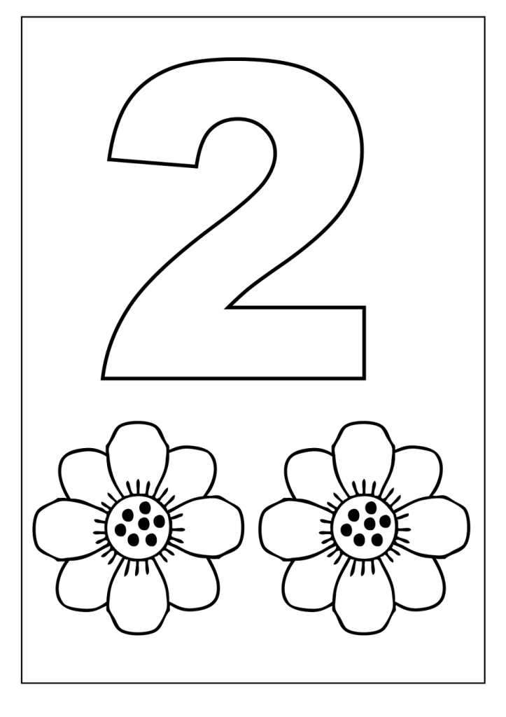Worksheets for 2 Years Old Preschool coloring pages