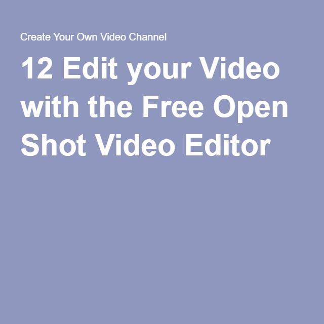 Free open videos