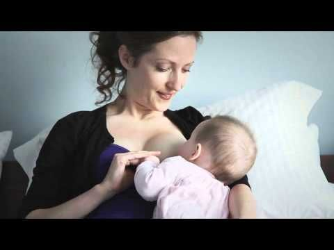 What are the different positions for breastfeeding? - YouTube