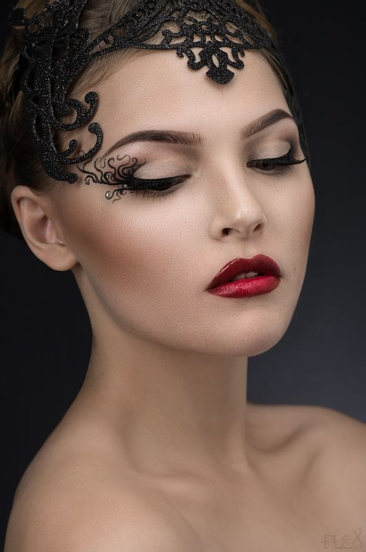 Готовимся к #Новому #году!!! #Фантазийный #макияж от ...
