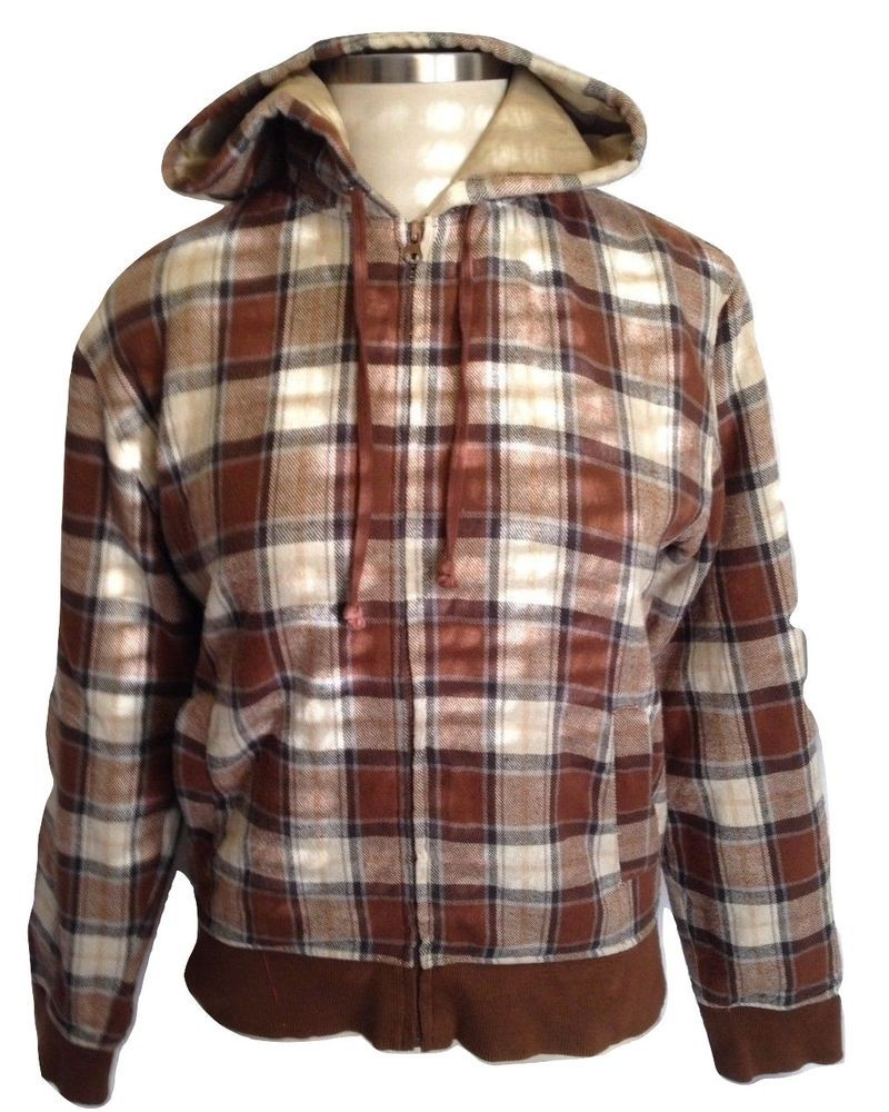 machine clothing company mens insulated flannel jacket zip on men s insulated coveralls with hood id=12435