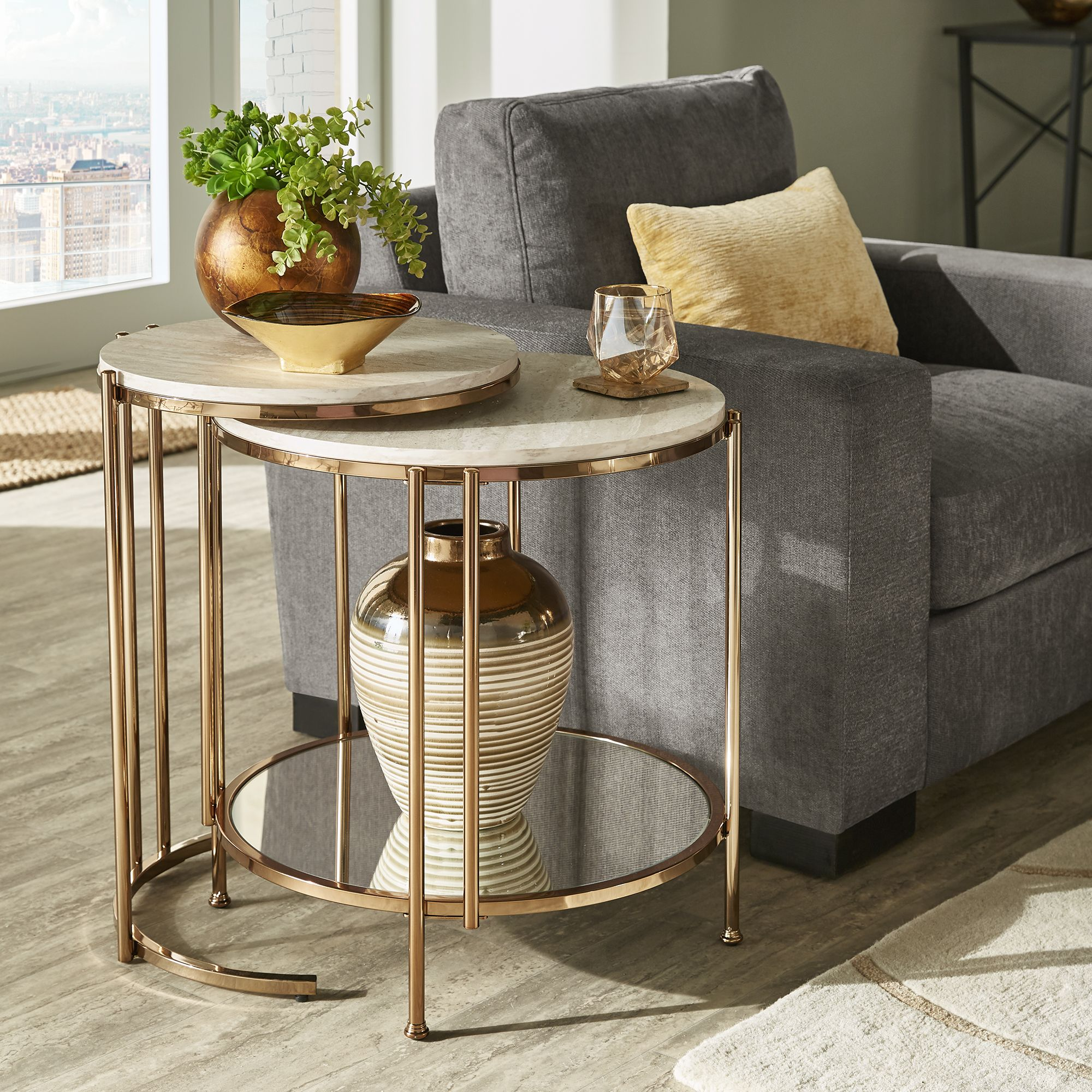 Overstock Com Online Shopping Bedding Furniture Electronics Jewelry Clothing More Table Decor Living Room Nesting Tables Living Room Gold Living Room