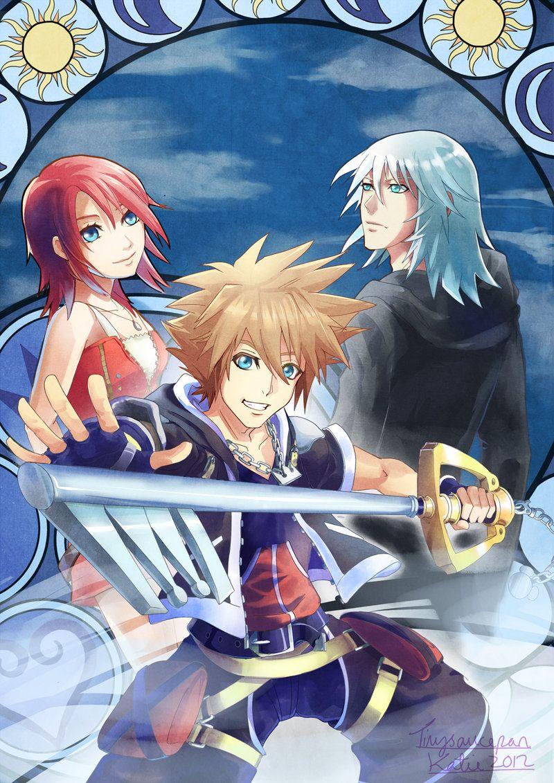 Kingdom Hearts Fanart by PepperComics on DeviantArt