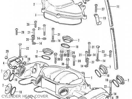 Honda Cb500 Four K1 General Export Parts List Partsmanual Partsfiche Honda Honda Bikes Old Honda Motorcycles