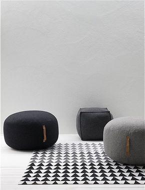 Hübsch Möbel pouf rund hübsch interior hübsch interior car möbel pouf