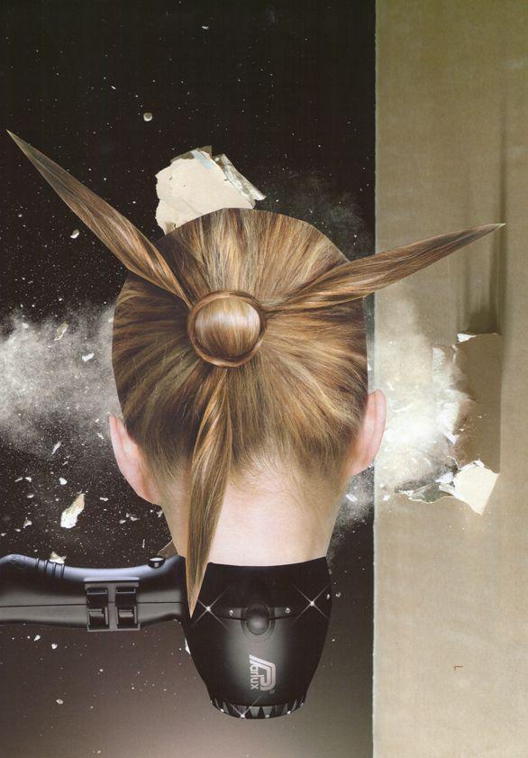 Collage, série In space © Valérie Dumont-Sudre