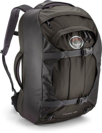 ddbcfe230a Osprey Porter 46 Travel Pack  a 46 liter carry-on backpack fits in the  overhead compartment and meets carry-on restrictions.  100 at REI
