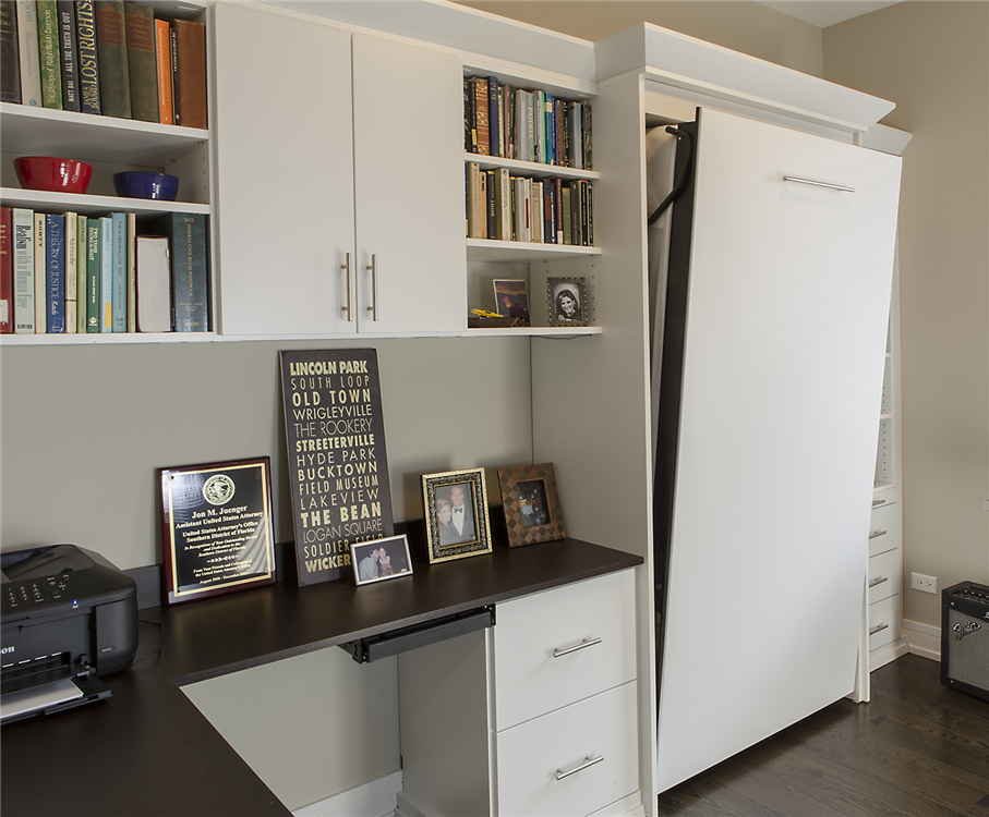 Closet Works   Chicago Home Office Storage Cabinets