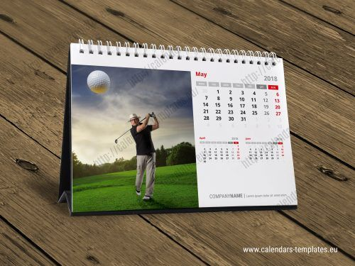 A5 Desktop Calendar With 12 Pages 3 Months Per Page Desk