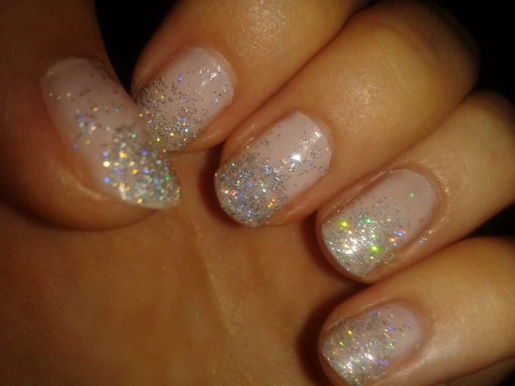 nail fade sparkle - Google Search | nails | Pinterest