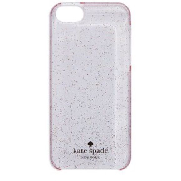 Kate spade hard shell glitter iPhone 5/5s case Great condition kate spade Accessories