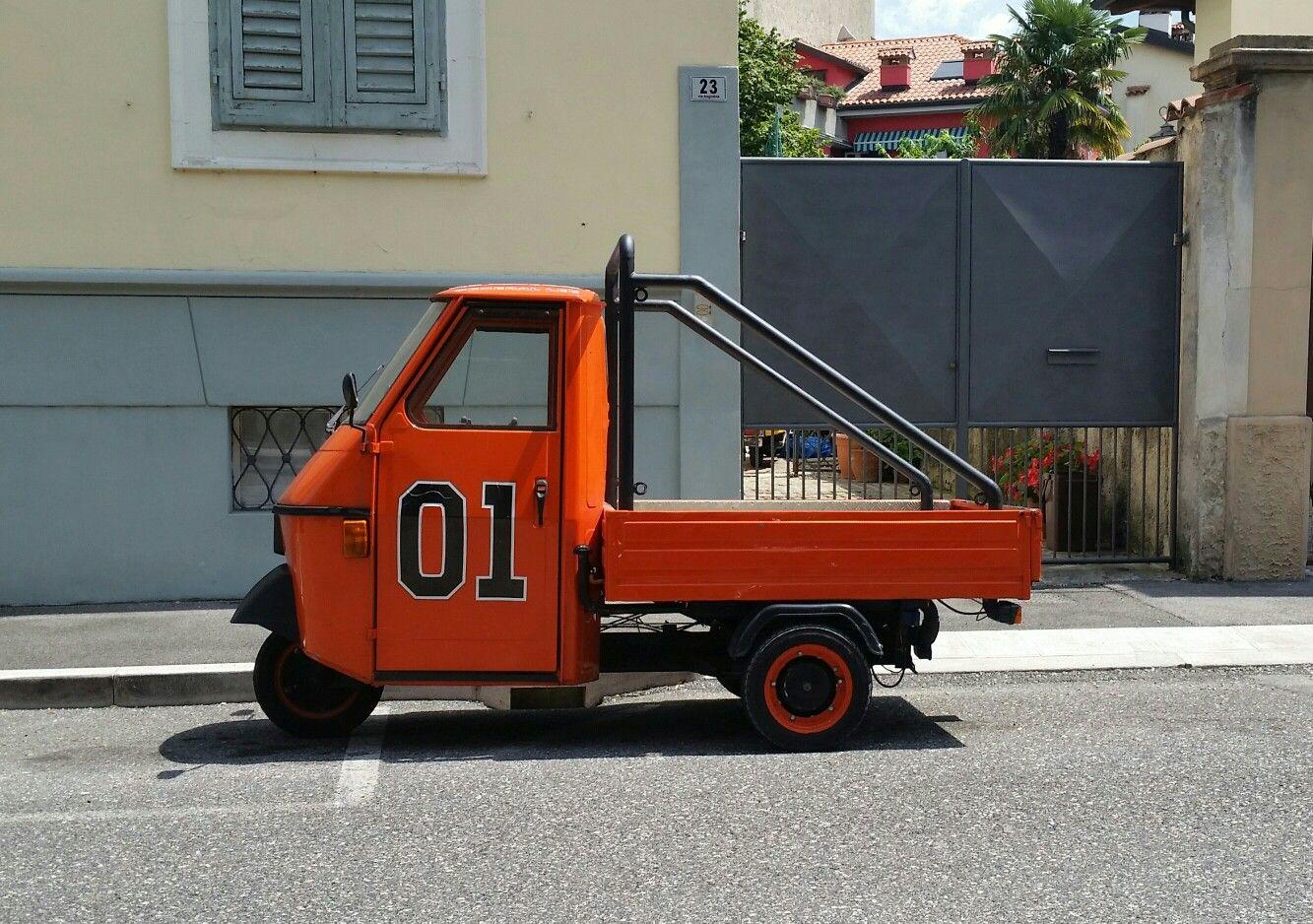 Ape 50 Generale Lee Piaggio Piaggio Ape Mini Trucks