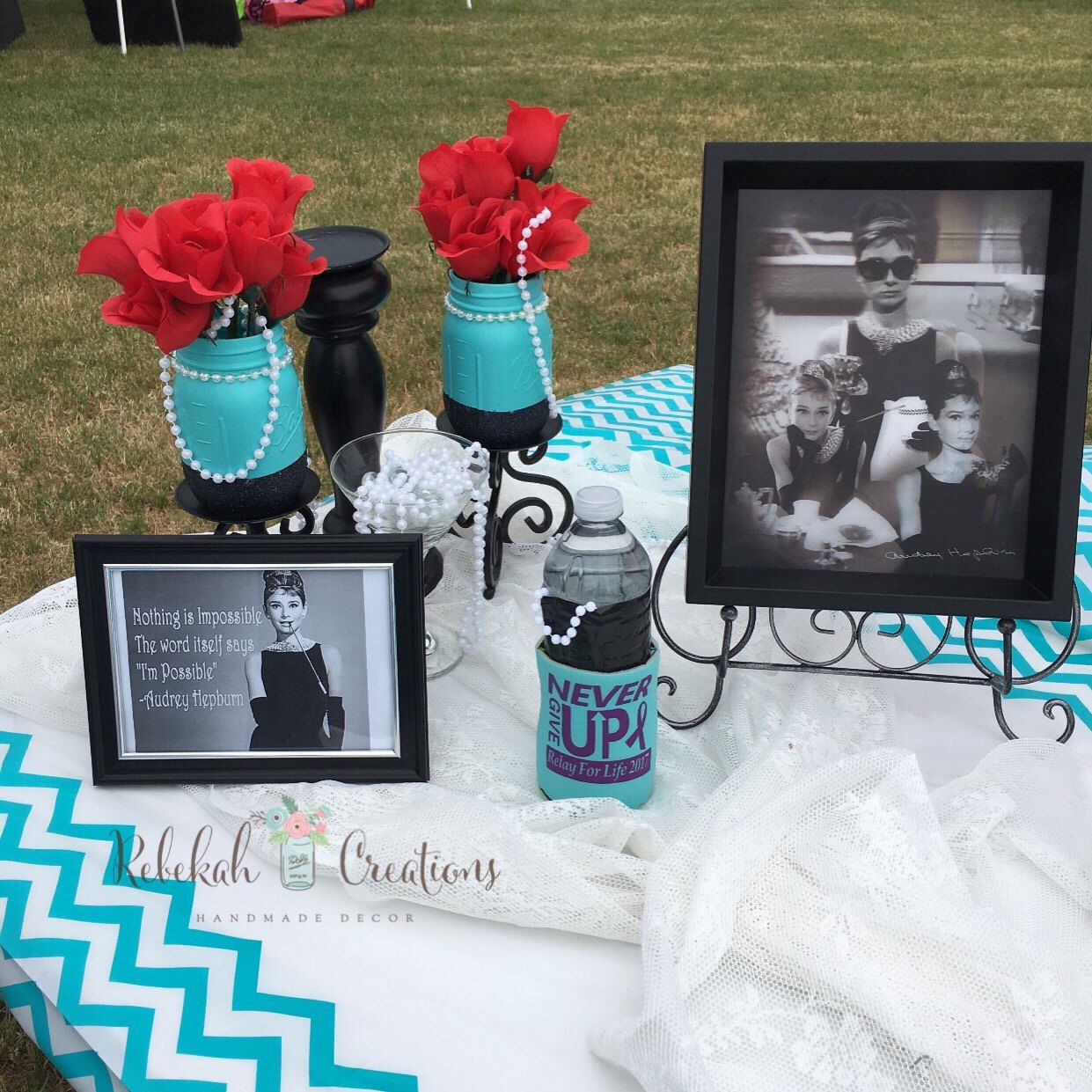 b5ef30da691 Love this set up with my Breakfast at Tiffany s Jars!