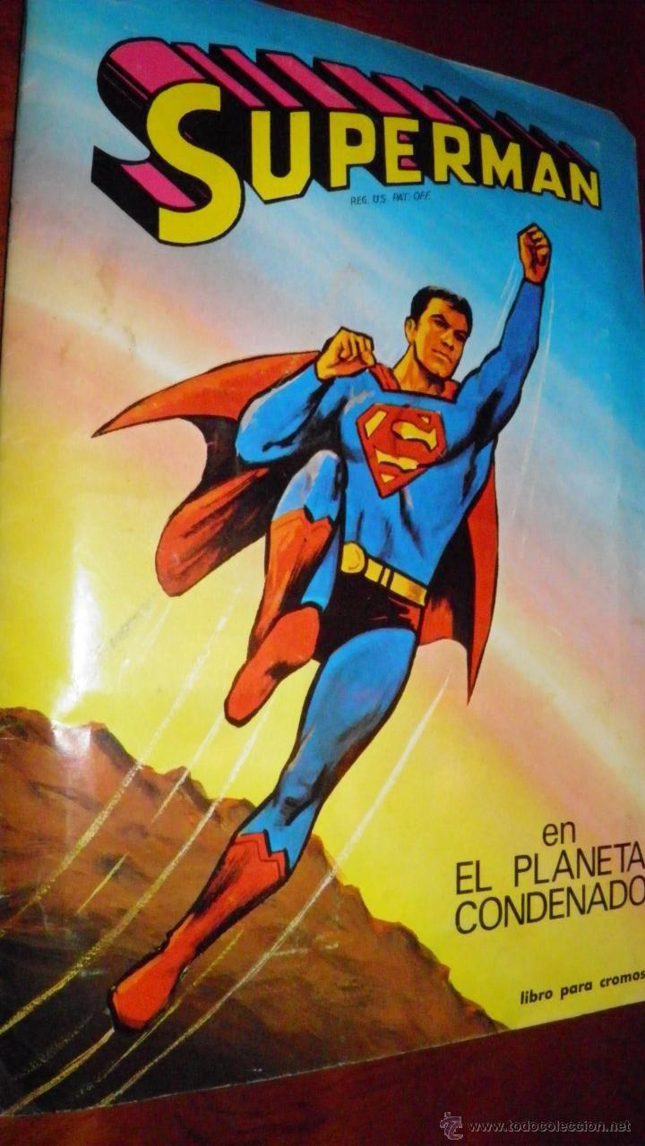 COMICS EN TODOCOLECCION: SUPERMAN EN EL PLANETA CONDENADO. FHER,1973