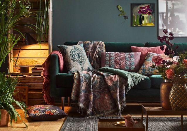 Les plus beaux salons cocooning à copier pour un hiver tout doux #décorationmaisoncocooning